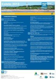 Condizioni e Regolamento - Camping Union Lido Vacanze