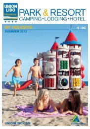 in formato PDF - Camping Union Lido Vacanze