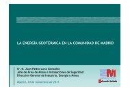 energía geotérmica en la comunidad de madrid