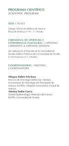 Symposium Program - Universidad de Oviedo - Page 4