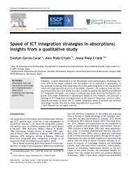 Speed of ICT integration strategies in absorptions: Insights from a ...