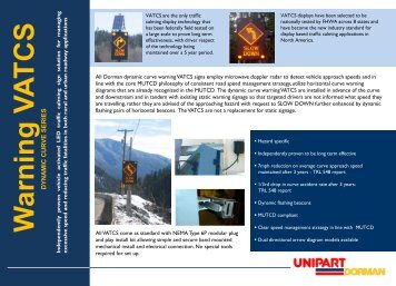 UD Curve Warning - Unipart Dorman