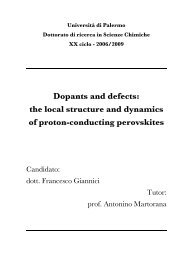 the local structure and dynamics of proton-conducting perovskites