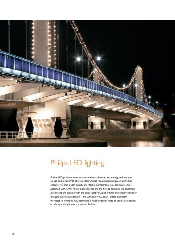 Philips LED lighting - Unipart Rail