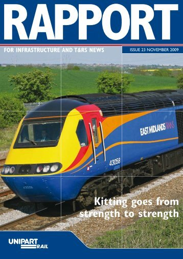 Rapport - November 2009 - Unipart Rail