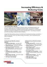 Increasing Efficiency & Reducing Costs - Unipart Rail