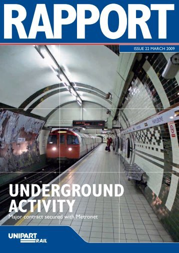 Rapport - March 2009 - Unipart Rail