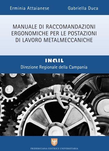 Manuale di raccomandazioni ergonomiche per le postazioni di ...