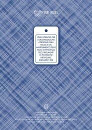 linee operative per l'organizzazione aziendale della pulizia e del ...