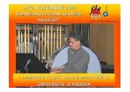 19-22 NOVEMBRE 2007 Cambiamo insieme la solita ... - Unipd-Org.It