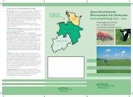 Qualitätsstandard Mischungen für Grünland Sortenempfehlung 2007