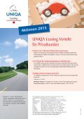 Kfz-Leasing für Privatkunden - Uniqa - Seite 2