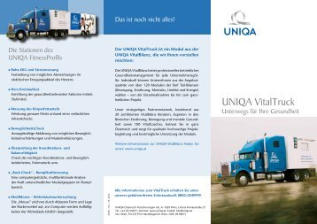 Folder UNIQA VitalTruck