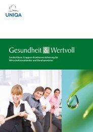 Gesundheit & Wertvoll - Uniqa