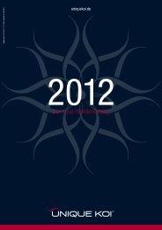 Katalog 2012 - Unique Koi