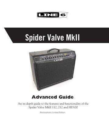 Spider Valve Advanced Guide - zZounds.com