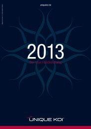 Katalog 2013 - Unique Koi