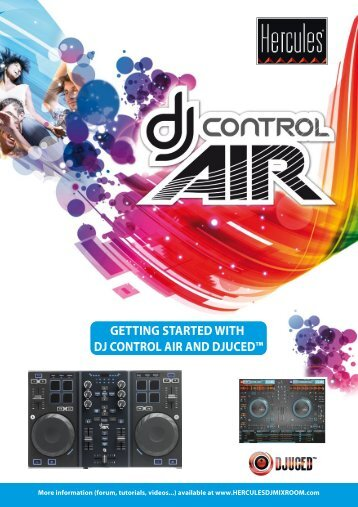 getting started with dj control air and djuced - UniqueSquared.com