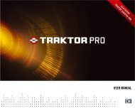 TRAKTOR PRO / TRAKTOR SCRATCH PRO – User Manual