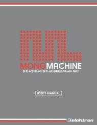 Monomachine User's manual - UniqueSquared.com