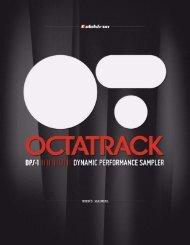 Octatrack User's manual - UniqueSquared.com