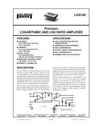 AD8307 Low Cost DC—500 MHz, 92 dB Logarithmic Amplifier