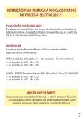 Prova do Vestibular de Verão 2011/1 - UniRitter - Page 7