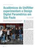 Acadêmicos do UniRitter experimentam o Design Digital - Page 6