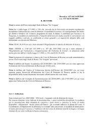 Bando in formato PDF - Università degli Studi di Roma Tor Vergata