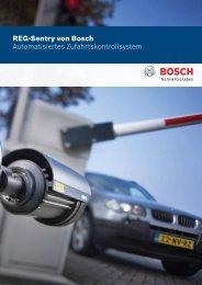 REG-Sentry von Bosch Automatisiertes ... - Bosch Security Systems