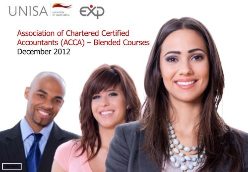 Association of Chartered Certified Accountants (ACCA) – Blended