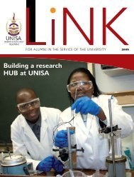 The Link - issue 1 2009 - University of South Africa