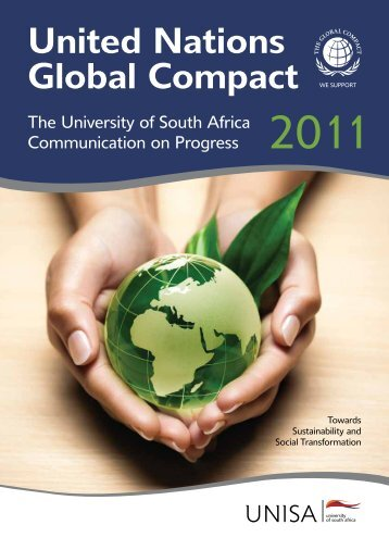 United Nations Global Compact - University of South Africa