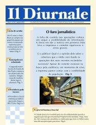 Jornal Il Diurnale – Agosto 2005 - Unisa