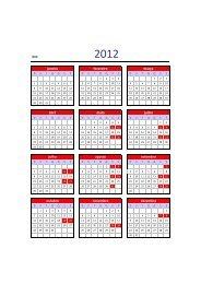 Confira o calendário com as datas de realização das aulas - Unisc