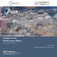 Programma generale - Università degli Studi di Siena