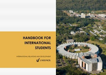 HANDBOOK FOR INTERNATIONAL STUDENTS - Unisinos