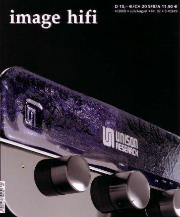 image hifi April 2008 (4,7 MB) - Unison Research