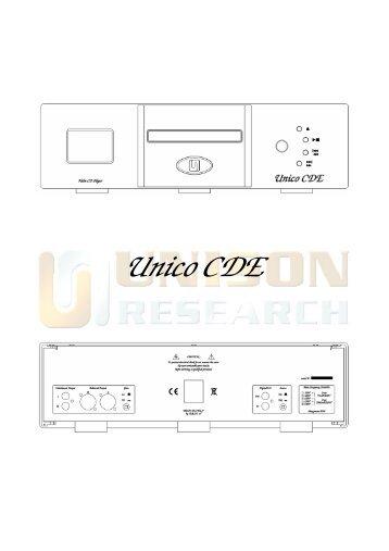 Unico CDE - Unison Research
