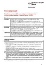 Informationsblatt HMG Art. 55 - Universitätsspital Basel