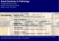 Basel Seminars in Pathology