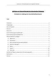 Leitlinien zur Schmerztherapie bei chirurgischen Patienten ...