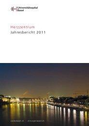 Herzzentrum Jahresbericht 2011 - Universitätsspital Basel