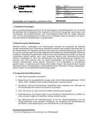 Arbeitsplätze ohne Tageslicht - Universitätsspital Basel