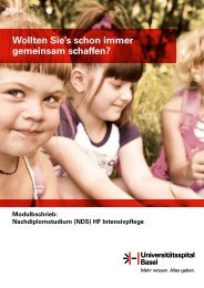 (NDS) HF - Universitätsspital Basel