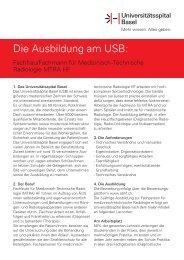 USB Vorlage Berufsportraits 190312 Fachfrau Fachmann für Medizi 1