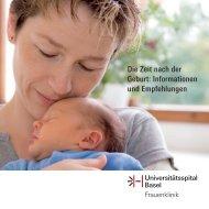 Die Zeit nach der Geburt: Informationen und Empfehlungen