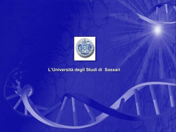 Chimica - Università degli Studi di Sassari