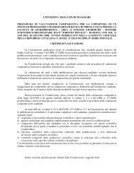 IUS/17 - Diritto Penale - Università degli Studi di Sassari