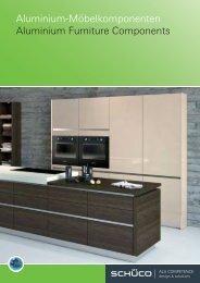 Aluminium-Möbelkomponenten Aluminium Furniture Components